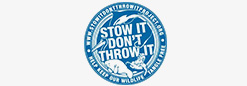 "Stow It-Donâ€â""¢t Throw It"